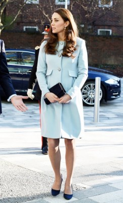 duchess kate blue coat