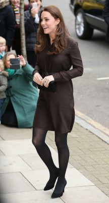 duchess kate brown dress