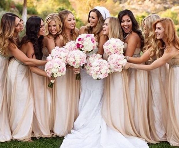 Top 10 Celebrity Bridesmaid Dresses