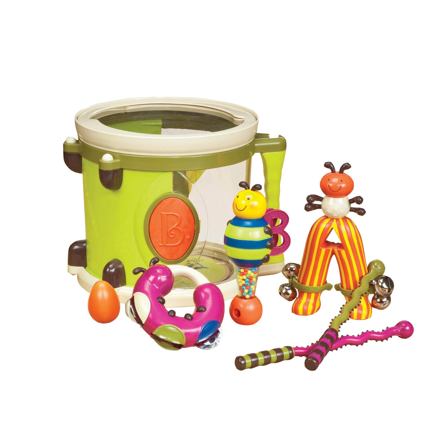 educational toys, drum set
