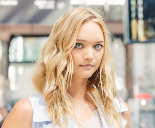 How To: Gemma Ward's Effortless Beachy Locks