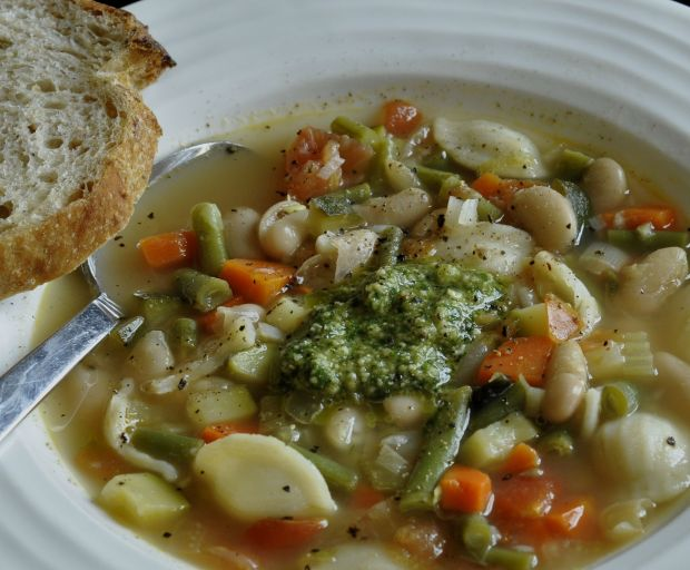 Healthy Provencal Vegetable Soup