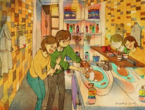 love, relationship advice, art, dating, real love, illustration, artist