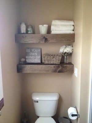 Thrifty Bathroom Decorating Ideas