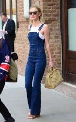 Kate Bosworth denim overall