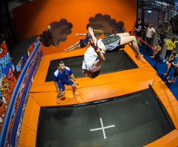 New Extreme Sport - Wall Running