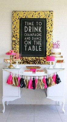 Pre-Bachelorette Decor Ideas