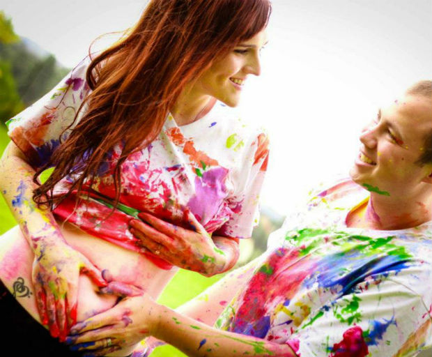 rainbow pregnancy