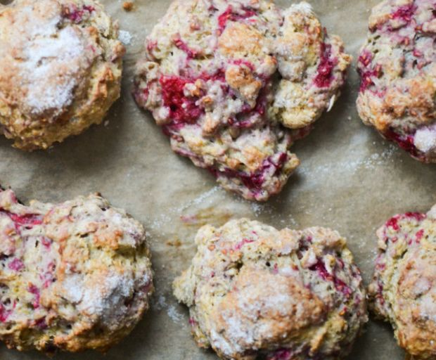 Oatmeal and Raspberry Scones Recipe
