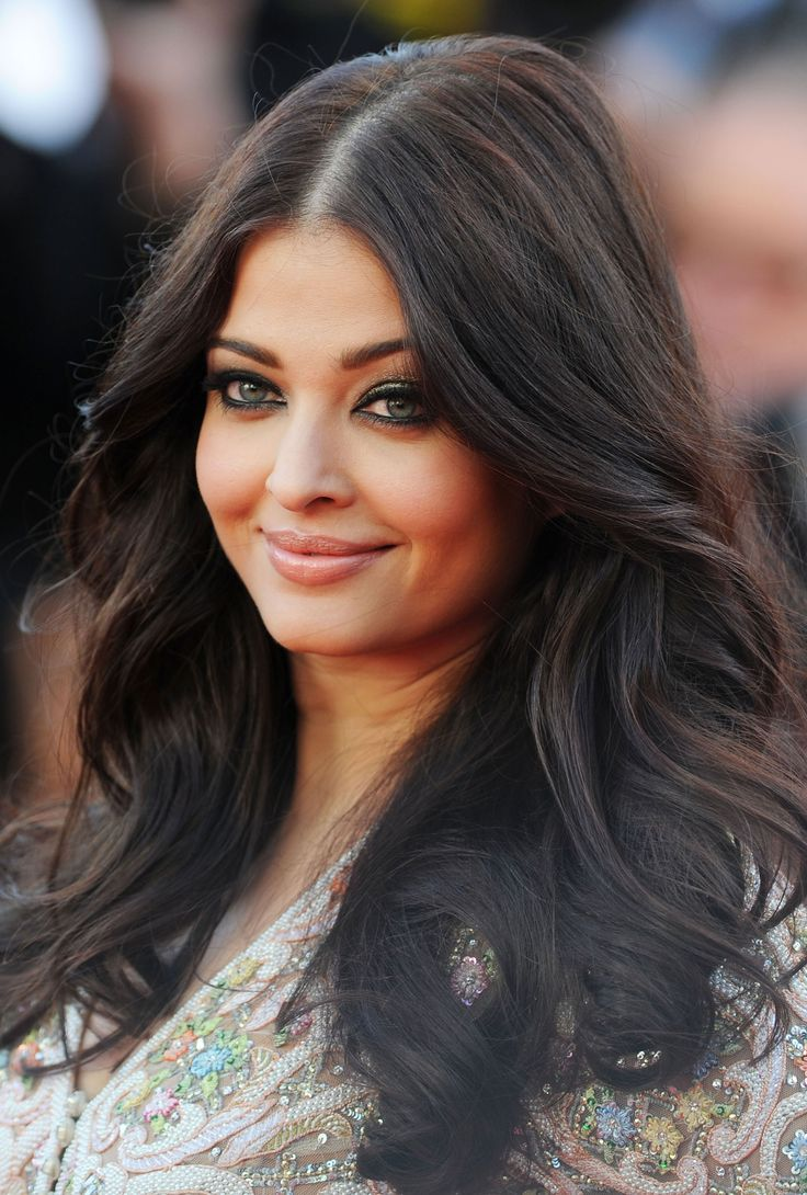Aishwarya Rai with Layered Hair