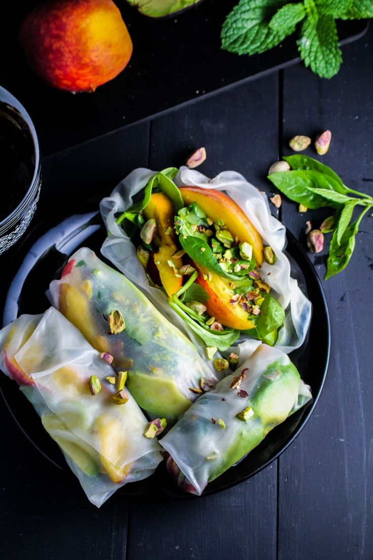 Fresh Fruit Spring Roll Ideas