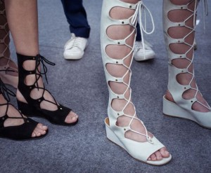 fashion, trend, lace up, chloe, sandals, spring, shopping
