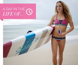 A Day In The Life Of, Inspirational Women, talent, sportswoman, Red Bull, sport, paddleboard
