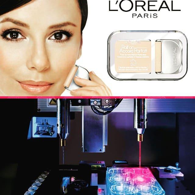 skincare, L'Oreal, 3D skin, animal testing