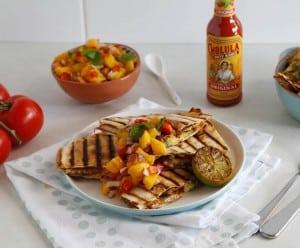 Chicken Quesadilla, Mexican, Mexican fiesta, chicken recipes, Quesadilla, hot sauce, dinner party