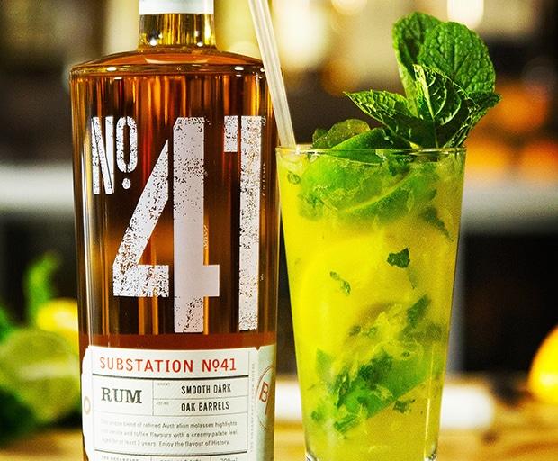 mojito, orange mojito, cocktail ideas, cocktails, TGIF, happy hour, rum, rum cocktail