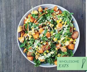 @cocohealth, food blogger, sweet potato, salad recipe, salad, healthy lunch ideas, Instagram food bloggers