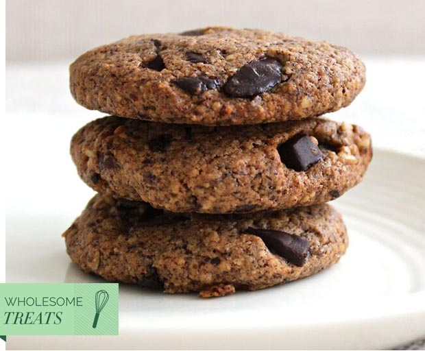@thefitfoodieblog, sugar-free recipes, healthy choc chip cookies, Wholesome Treats, hazelnut cookies, sugar-free, food bloggers