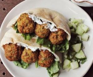 Healthy, Homemade Falafel, Recipe