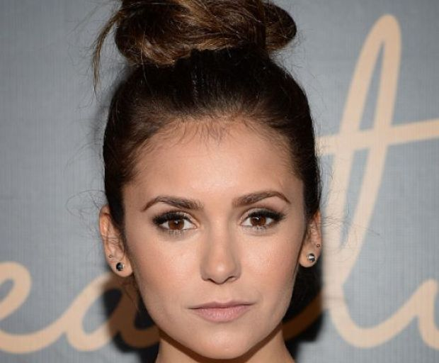 Nina Dobrev's No-Fuss Top Knot Tutorial
