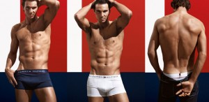 Rafael Nadal, Rafa, Tommy Hilfiger, underwear, US Open, sex appeal, gender equality
