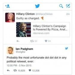 Hillary Clinton, butt jokes, anal sex, Democrats, US presidential election