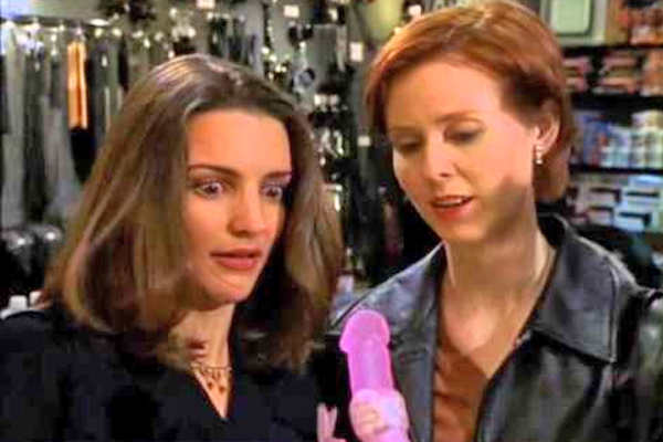 As Charlotte adorably learned in SATC, there's nothing scary about exploring the world of sex toys. Especially when they're pink and look like bunnies.