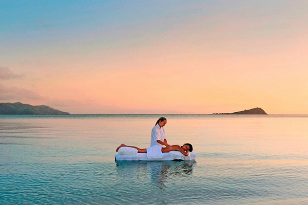 floating massage hayman island