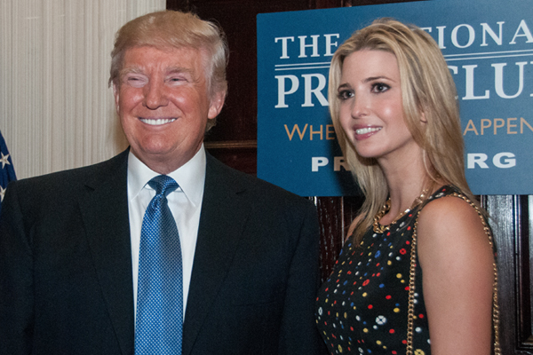 "Trump has a checkered history with women, including his own daughter, Ivanka, who he told The View if Ivanka weren't my daughter, perhaps I'd be dating her."" — - See more at: https://shesaid.com/au/13-offensive-things-come-donald-trumps-mouth/#sthash.cv8hOtKs.dpuf"