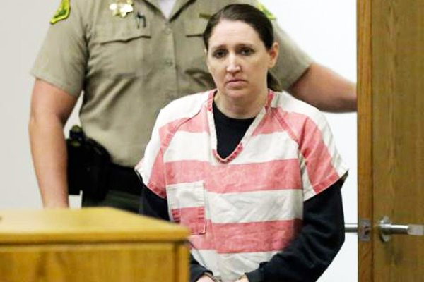 Huntsman at her 2015 sentencing.