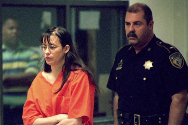 Andrea Yates in court. (Image via www.wherearetheynow.buzz)