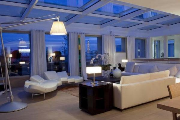 Inside the luxury apartment where Kardashian was held captive.
