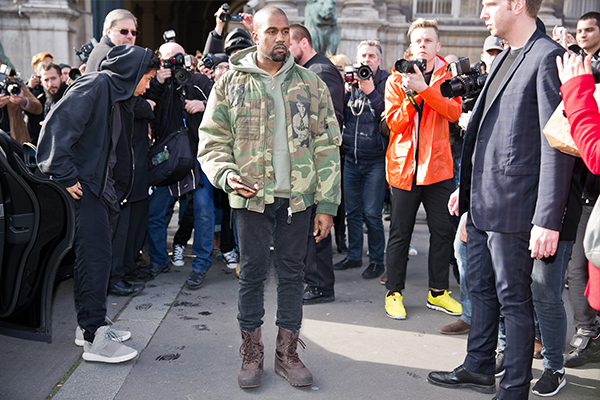 West has a history of acting erratically, though has been under increased stress since his wife's attack in Paris.