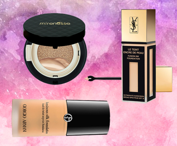 Foundations that look like skin