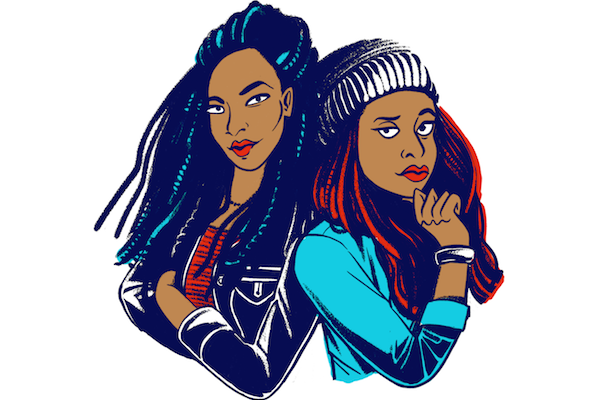 2 Dope Queens Podcast Phoebe Robinson Jessica Williams