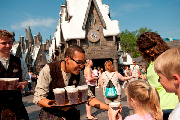 Harry Potter anniversary butter beer Wizarding World of Harry Potter