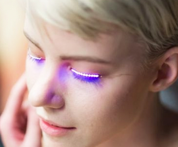 There Are Light Up Lashes Now And We Know You Want Them