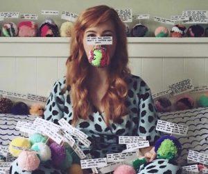 Meet Rachel Burke. The Artist Saying Sorry With Pom Poms.