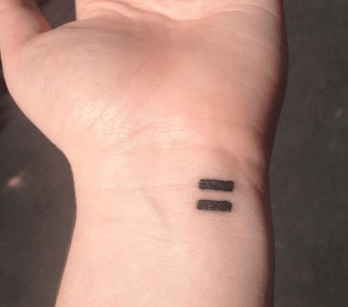 b003e7a8e0586 17 Feminist Tattoos You'll Want Yourself - SHE'SAID'