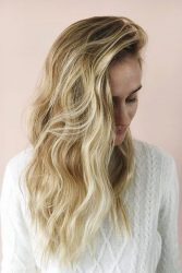 2017 hairstyle flat iron waves