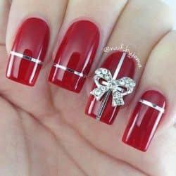 christmas nail art gift