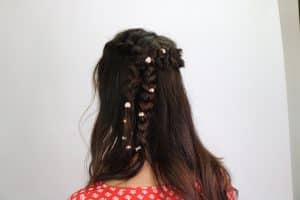 KELA hair jewelry Ash