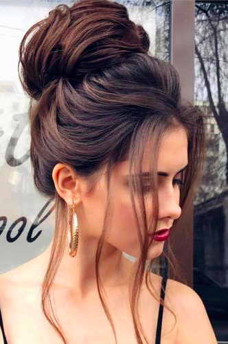 christmas party hairstyle updo