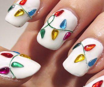 Christmas Nail Designs.27 Christmas Nail Art Ideas To Take To The Nail Salon These