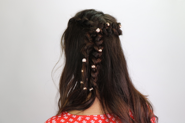 kela hair charms boho braid