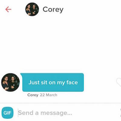 And then we have guys like Corey. Don't be like Corey.