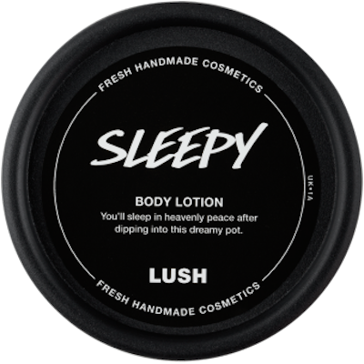 body lotion sleepy