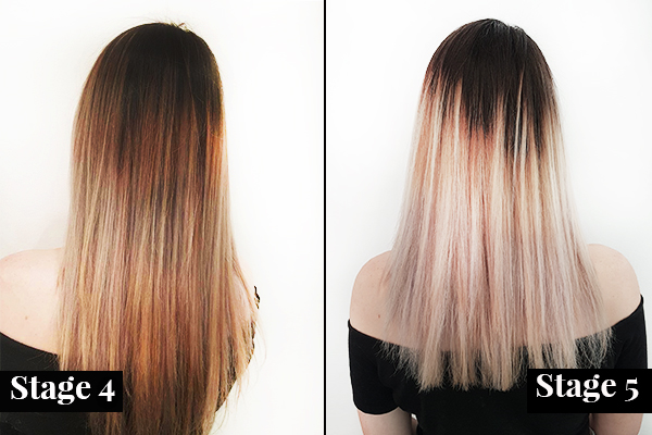 Going From Black To Blonde And How Hard It Is She Said