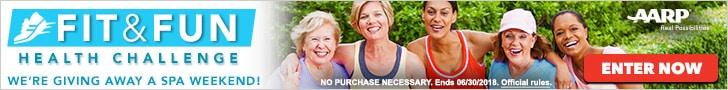 AARP Fit & Fun Health Challenge - Enter now