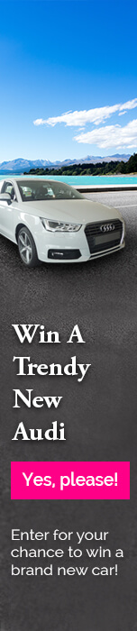 Win a brand new Audi